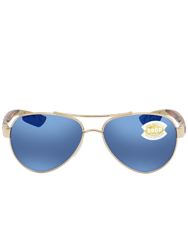 COSTA DEL MAR LORETO AVIATOR SUNGLASSES