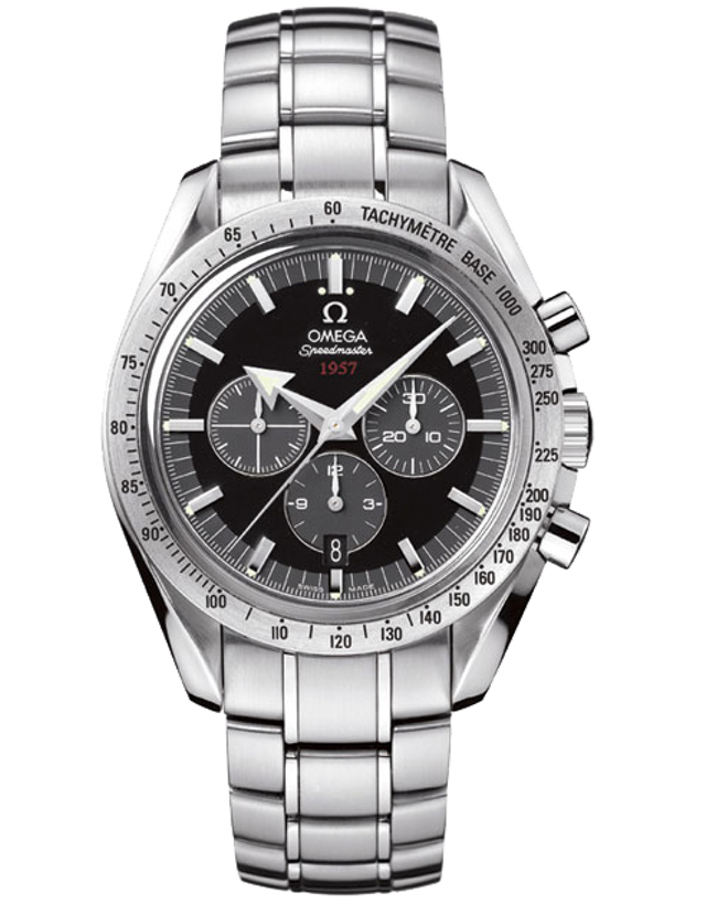 Omega Speedmaster Broad Arrow 42mm Chronograph Steel Men's Watch