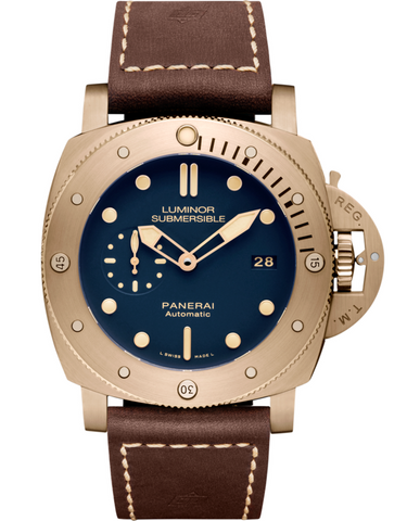 Panerai Luminor Submersible 1950 3 Days Automatic Bronzo Men's Watch