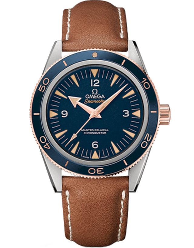 Omega Seamaster 300 Automatic Blue Dial Men's Watch