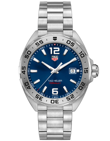 Tag Heuer Formula 1 Quartz Blue Dial Stainless Steel Men's Watch