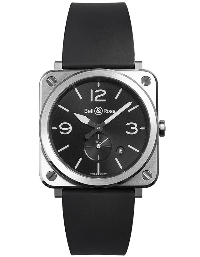 Bell & Ross Br S Quartz 39mm Midsize Watch