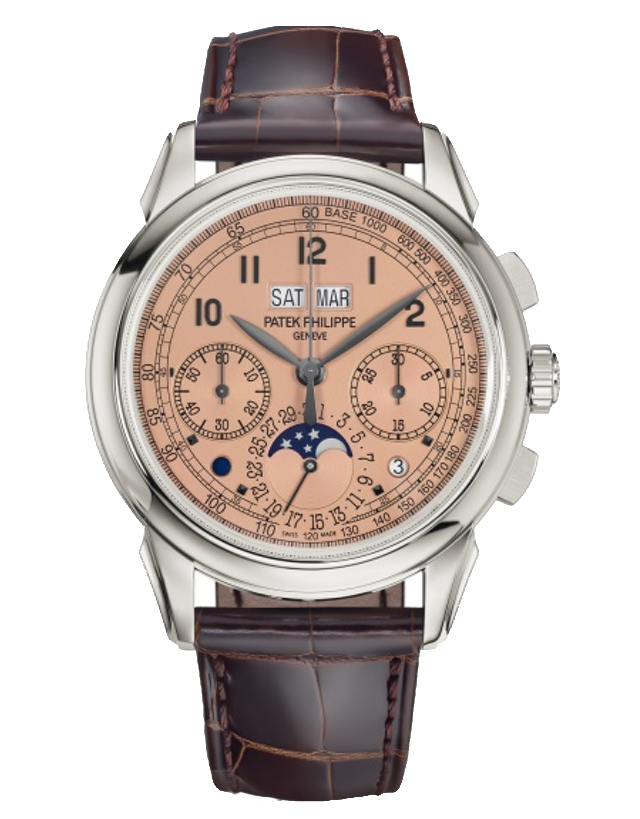 Patek Philippe Grand Complications 950 Platinum Brown Manual Wind Men's Watch