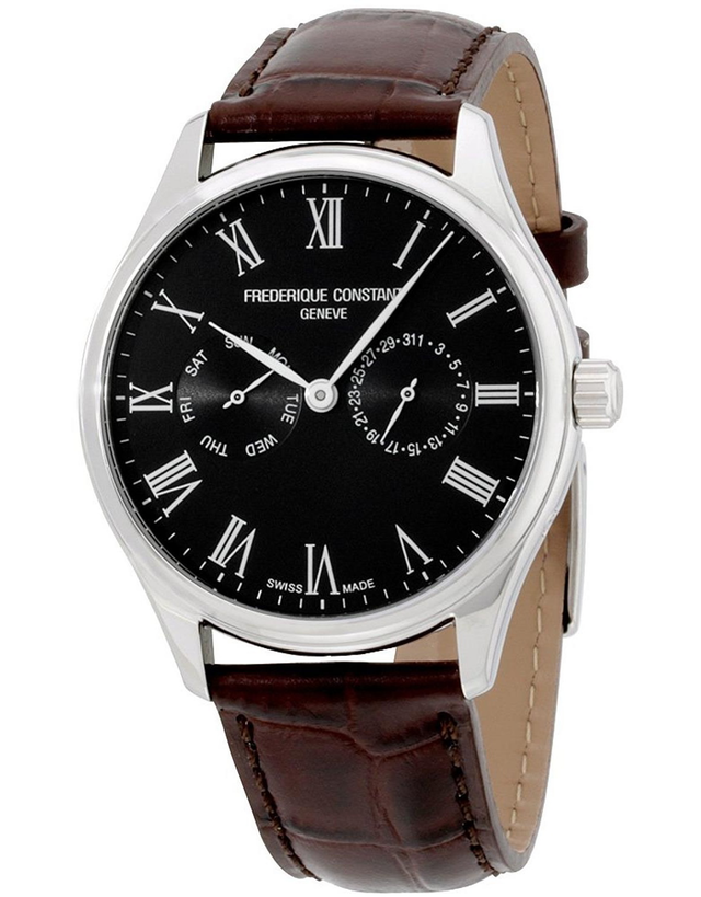 FREDERIQUE CONSTANT CLASSICS BLACK DIAL MEN'S WATCH
