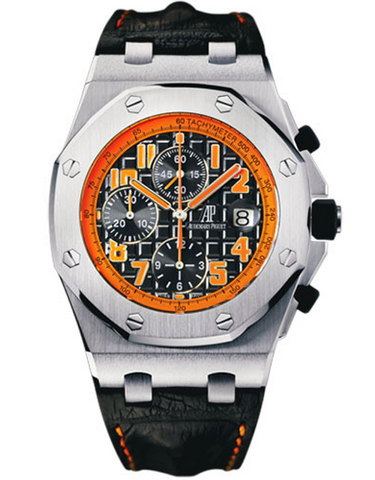 AUDEMARS PIGUET ROYAL OAK OFFSHORE STAINLESS STEEL BLACK AUTOMATIC