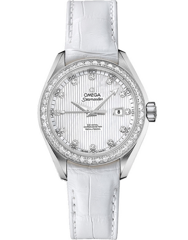 Omega Seamaster Aqua Terra Diamond Women's Watch