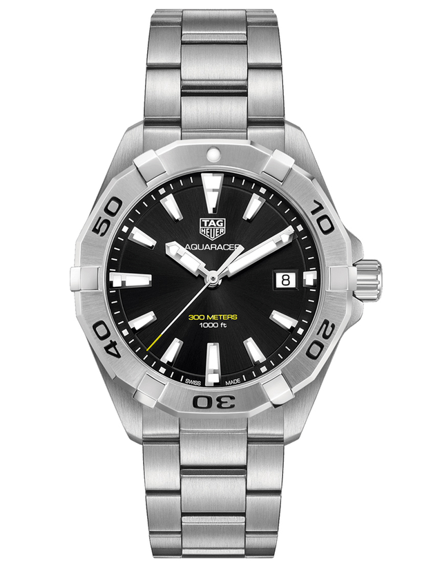 Tag Heuer Aquaracer 300M Black Dial Stainless Steel Men's Watch