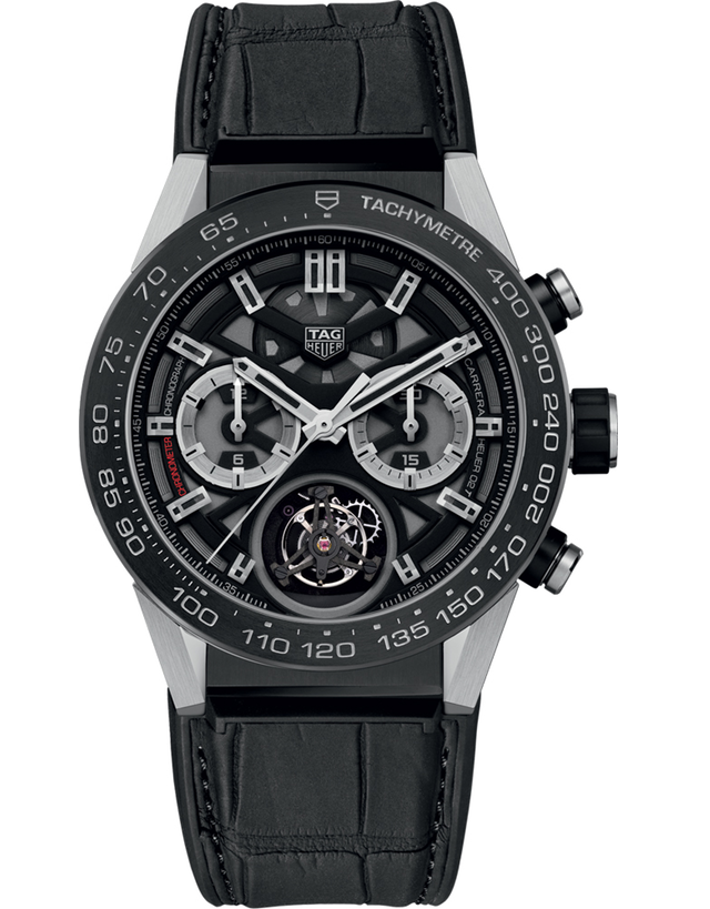 TAG HEUER CARRERA CALIBRE HEUER 02 T TOURBILLON MEN'S WATCH