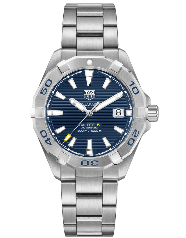 Tag Heuer Aquaracer 300M Automatic Blue Dial Stainless Steel Men's Watch
