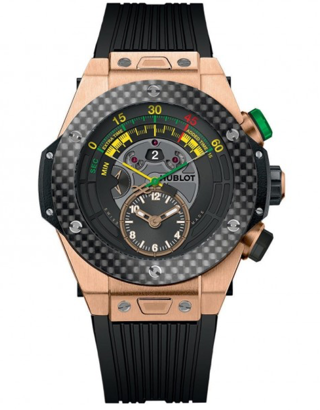 39b9b5fca Hublot Big Bang Unico Bi-Retrograde Fifa World Cup Rose Gold Men's Watch