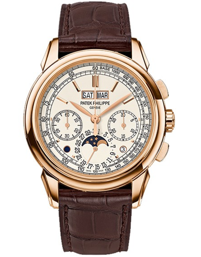 Patek Philippe Grand Complications 18k Rose Gold White Manual Wind Men's Watch