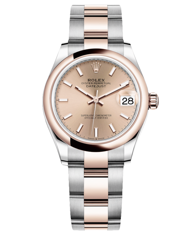 4de22ff25c1 Rolex Lady Datejust 18k Rose Gold And Steel Pink Automatic Ladies Watc –  LuxuryTimeSA