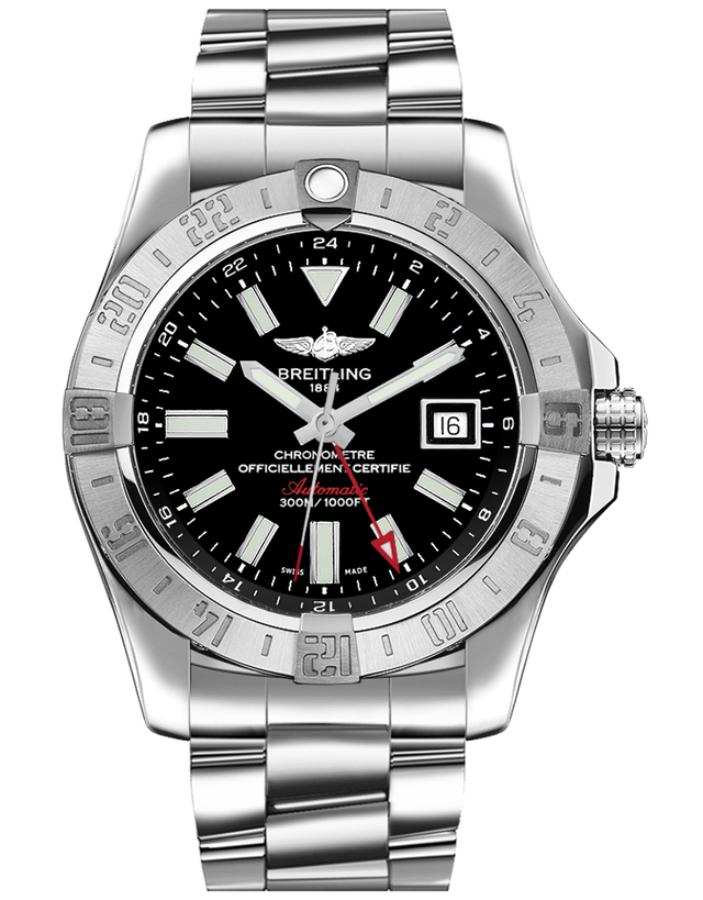 Breitling Avenger II Gmt Men's Watch