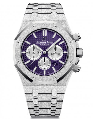 Audemars Piguet Royal Oak Frosted White Gold Selfwinding Chronograph