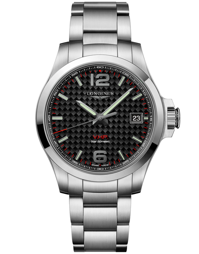 Longines Conquest V.H.P. 41mm Mens Watch