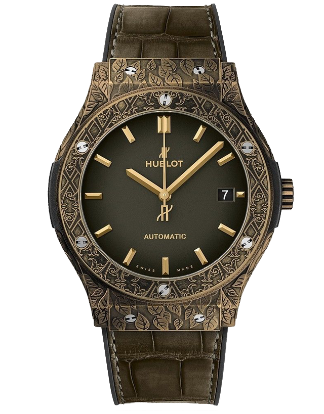 Hublot Classic Fusion Automatic Fuente Limited Edition Green Men's Watch