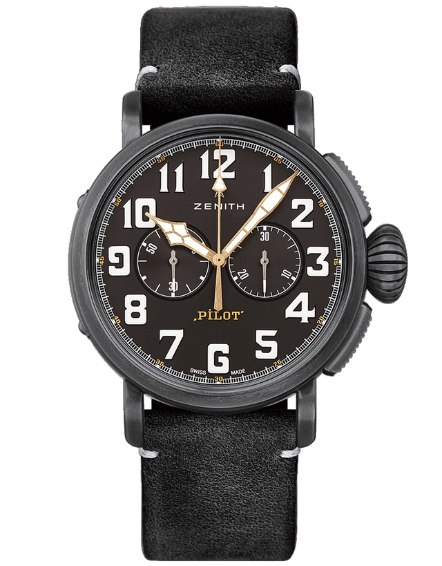 Zenith Pilot Type 20 Chronograph Mens Watch