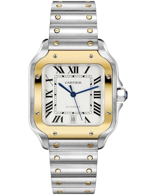 Cartier Santos De Cartier Medium Midsize Watch