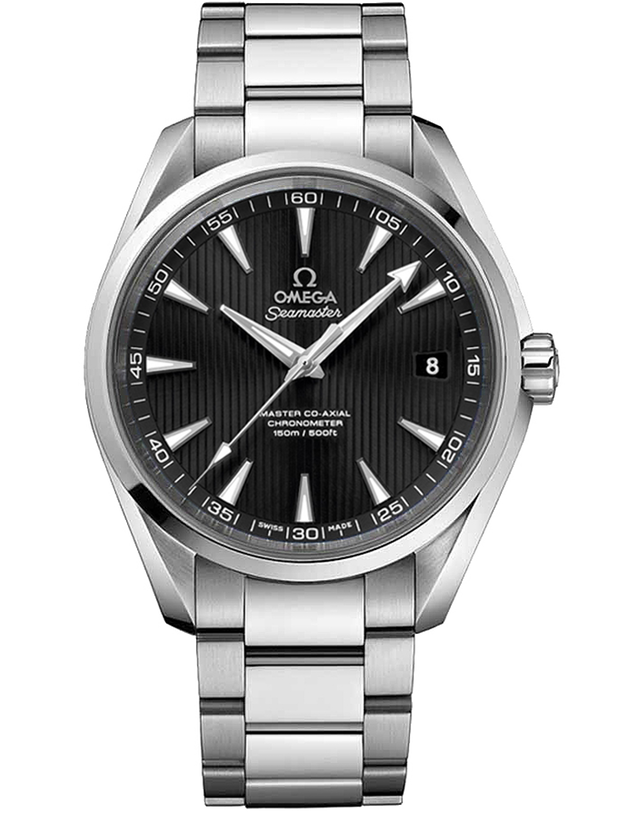 OMEGA SEAMASTER AQUA TERRA AUTOMATIC CHRONOMETER 41.5MM 15,000 GAUSS ANTI-MAGNETIC MEN'S WATCH