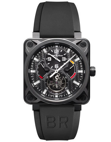 Bell & Ross Aviation Instruments BR 01 Tourbillon Men's Watch