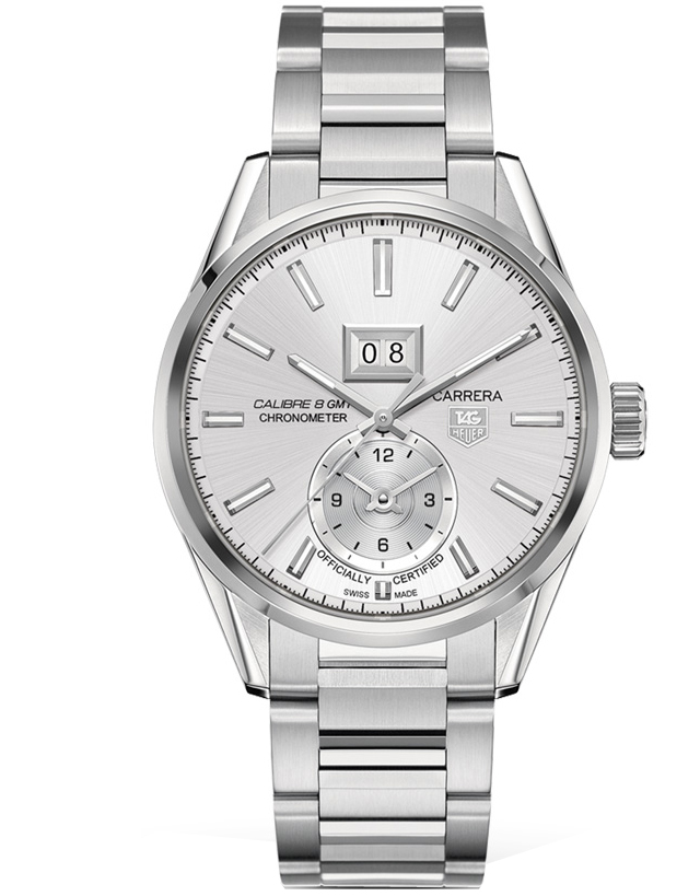 TAG HEUER CARRERA CALIBRE 8 GMT AUTOMATIC MEN'S WATCH