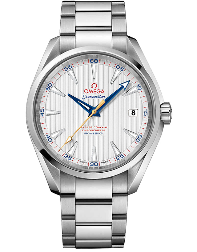 OMEGA SEAMASTER AQUA TERRA 150M MASTER CO-AXIAL GOLF EDITION ANTI-MAGNETIC MEN'S WATCH