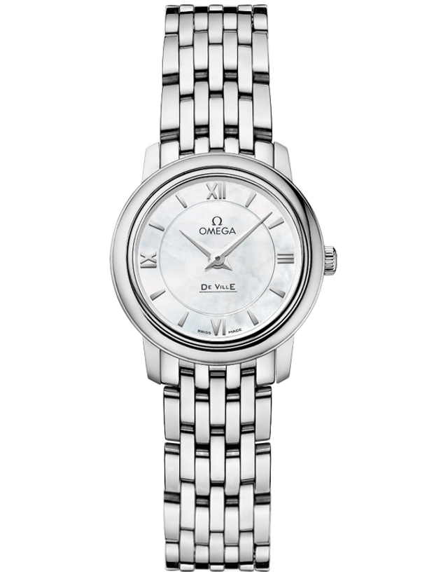 OMEGA DE VILLE QUARTZ 24.4MM WOMEN'S WATCH