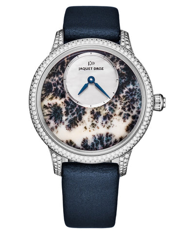 Jaquet Droz Petite Heure Minute 35mm Dedritic Agate Women's Watch
