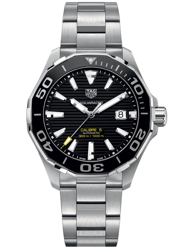 Tag Heuer Aquaracer 300M Automatic Black Men's Watch