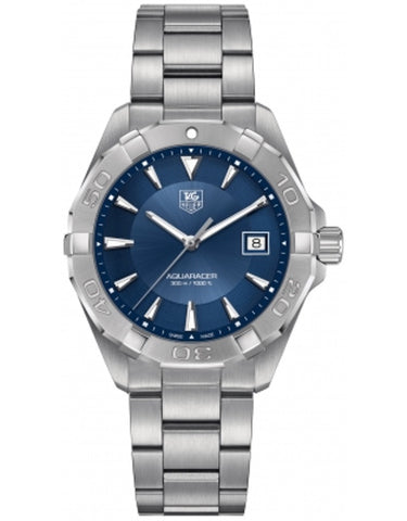 TAG HEUER AQUARACER 300M 40.5MM BLUE SUNRAY DIAL MEN'S WATCH