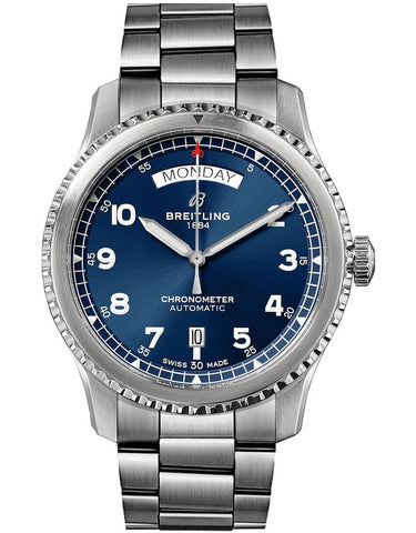 Breitling Aviator 8 Automatic Day & Date 41 Mens Watch