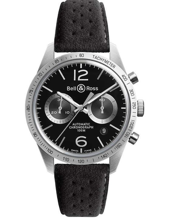 Bell & Ross Vintage Original New Chronograph Men's Watch