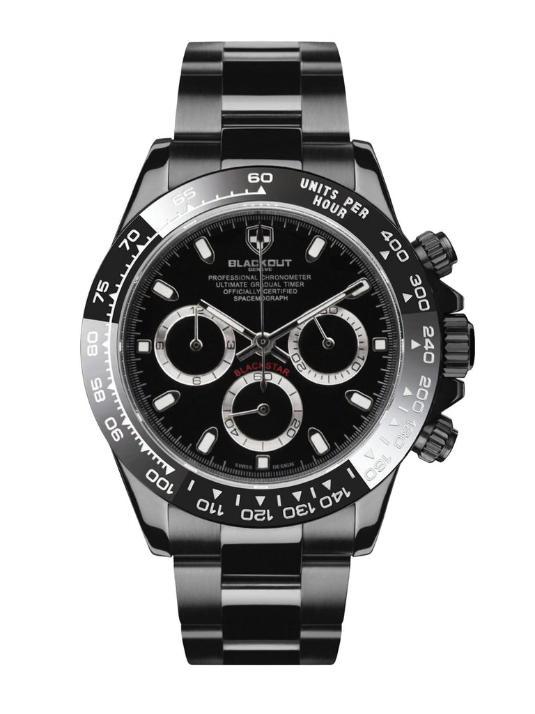 Blackout Concept Blackstar H1 Limited Series Men's Watch