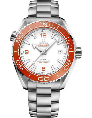 Omega Seamaster Planet Ocean 600M White Dial Stainless Steel Men's Watch