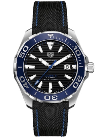 TAG HEUER AQUARACER 300M 43MM CALIBRE 5 AUTOMATIC CERAMIC BEZEL MEN'S WATCH