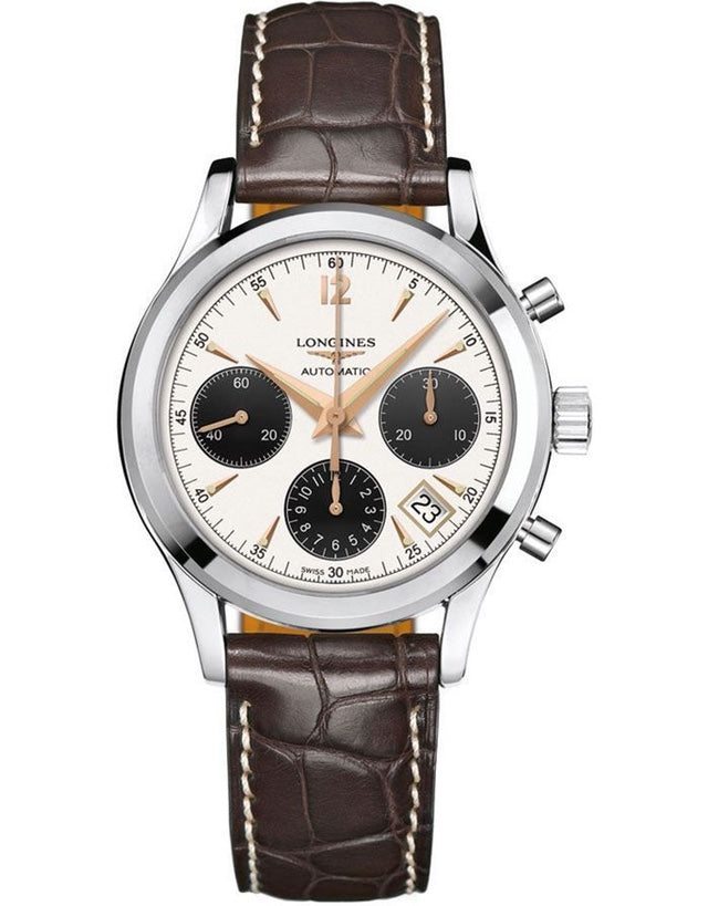 Longines Heritage Column-Wheel Chronograph Men's Watch
