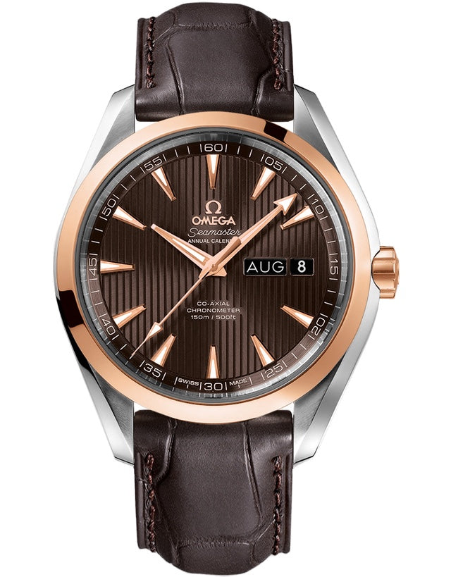 Omega Aqua Terra Annual Calendar 43mm Mens Watch