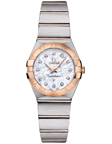 Omega Constellation Brushed 24mm Ladies Watch