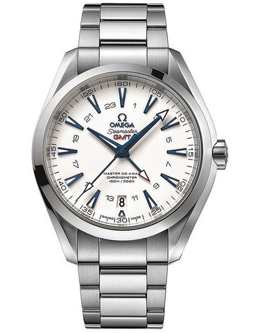 Omega Aqua Terra 150m Master Co-Axial GMT 43mm Mens Watch