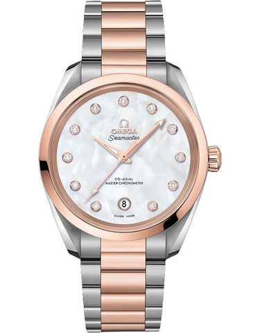 Omega Aqua Terra 150M Co-Axial Master Chronometer 38mm Ladies Watch