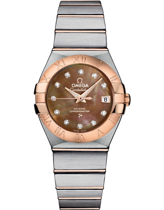 Omega Constellation Co-Axial Automatic 27mm Ladies Watch