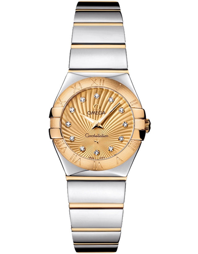 Omega Constellation Polished 24mm Ladies Watch