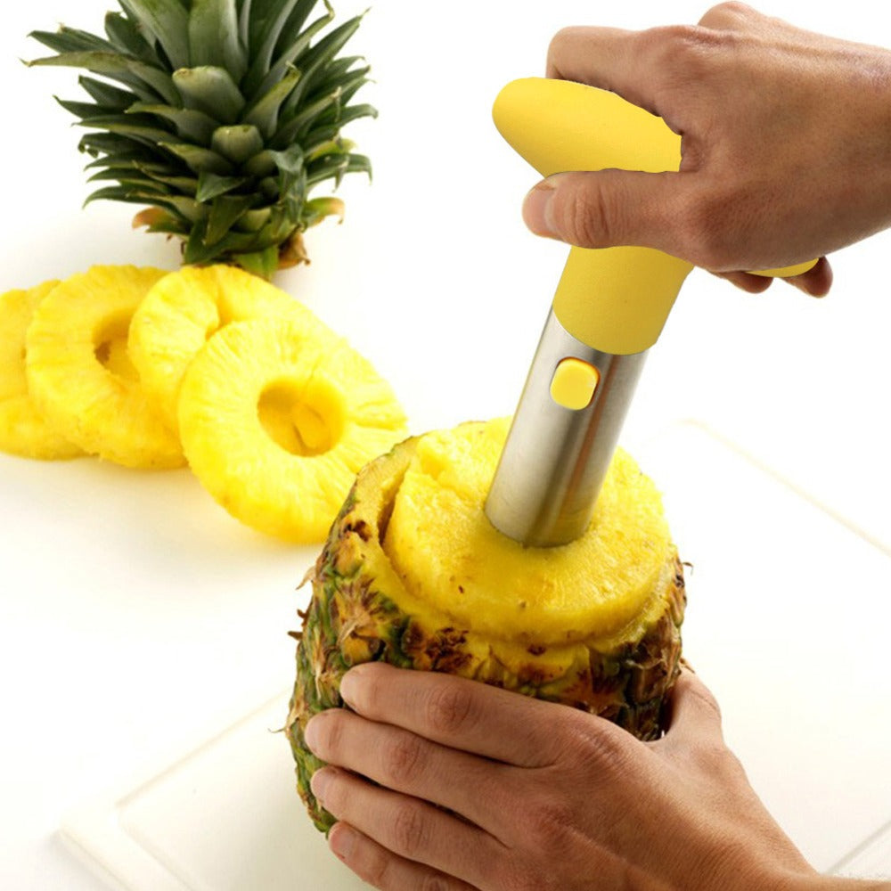 Stainless Steel Pineapple Slicer home decor kitchen US Canada