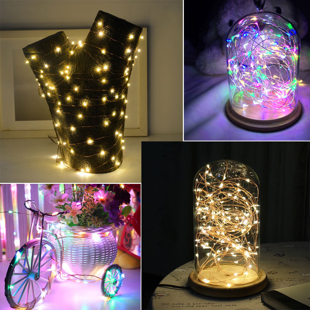 LED String Lights Waterproof Holiday LED Strip home decor kitchen US Canada