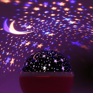 Starry Sky Night Light LED Lamp Kids Bedroom Projector Lamp home decor kitchen US Canada