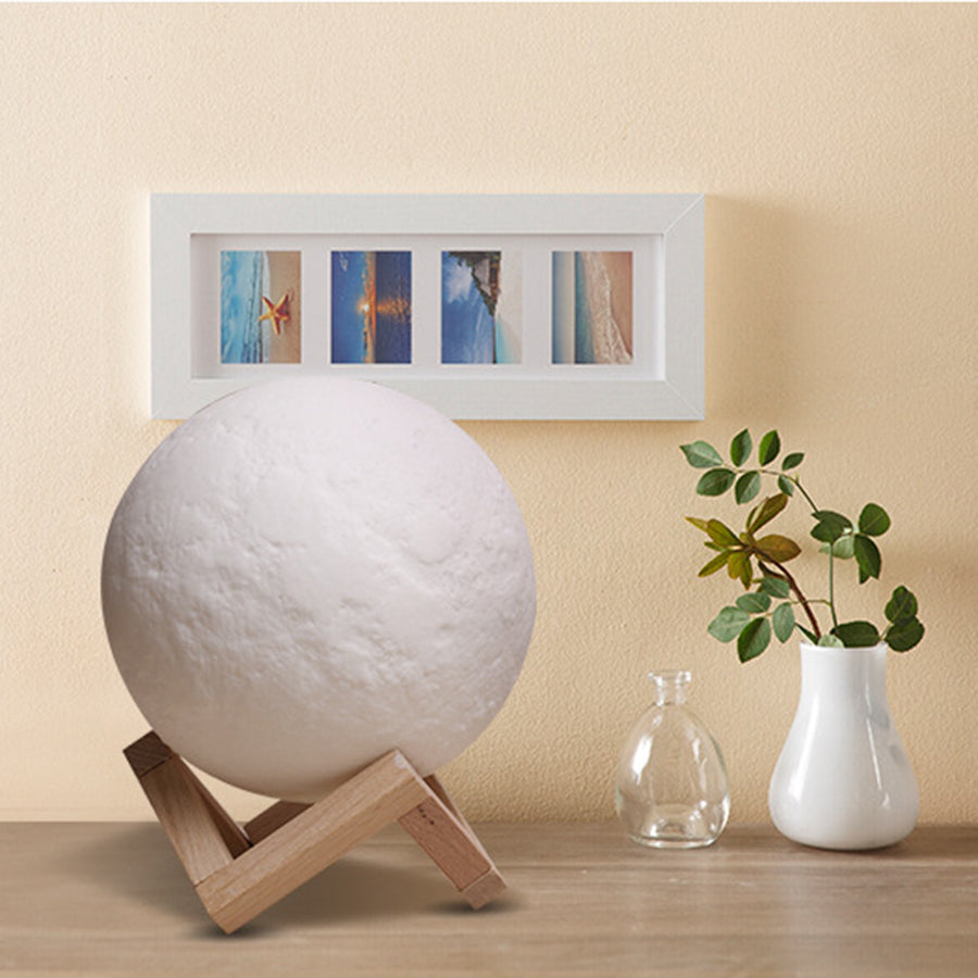 3D Print Magical Moon Light LED Lamp US Canada