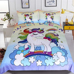 Sweet Dream Unicorn Bedding Set Duvet Cover US Canada