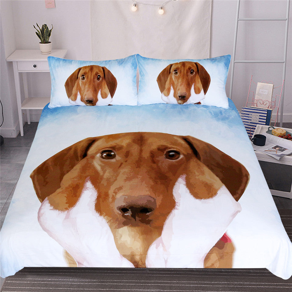Dachshund Sausage Duvet Cover Bedding Set US Canada