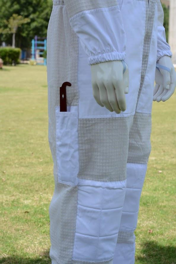 Beekeeping 3 Layer Ultra Ventilated Mesh Overalls Cool Bee Hive Full Suit