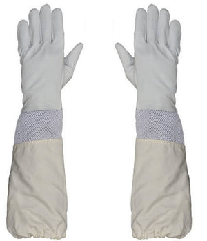 Beekeeping Vented Goatskin Leather PREMIUM Gloves